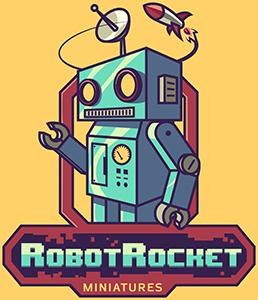 Robot Rocket Miniatures Logo