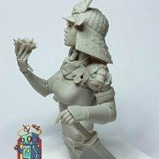 Ko-hana – Fantasy Samurai – High Quality Miniature – Left Facing