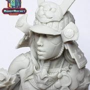 Ko-hana – Fantasy Samurai – High Quality Miniature – Close Up
