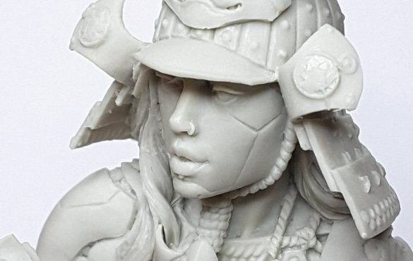 Ko-hana – Fantasy Samurai – High Quality Miniature – Close Up