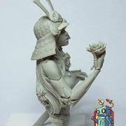 Ko-hana – Fantasy Samurai – High Quality Miniature – Right Facing