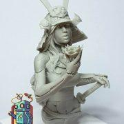 Ko-hana – Fantasy Samurai – High Quality Miniature