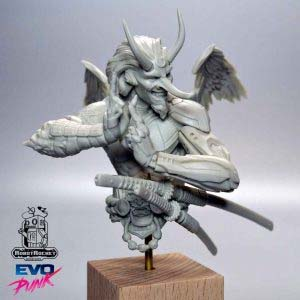tenguko-featured samurai miniature